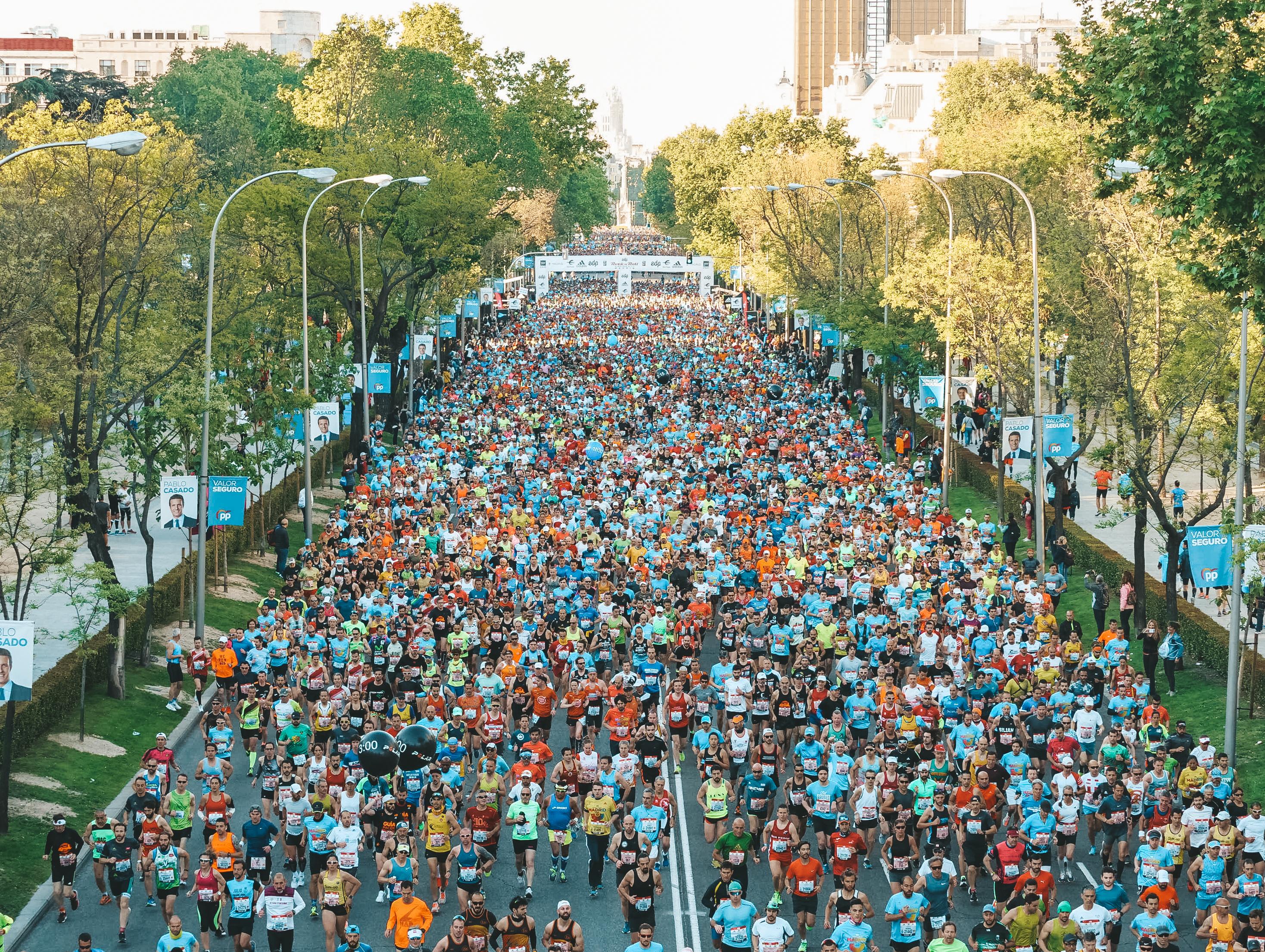 LA GENTE QUIERE CORRER EN MADRID