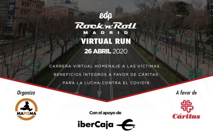 ¡Más de 4.000 personas inscritas a la EDP Rock 'n' Roll Madrid VIRTUAL RUN!