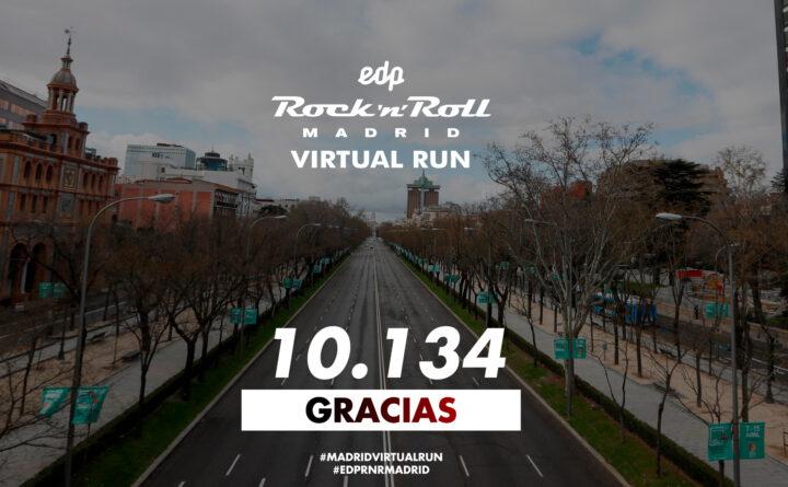 ¡La Madrid Virtual Run bate un record histórico!