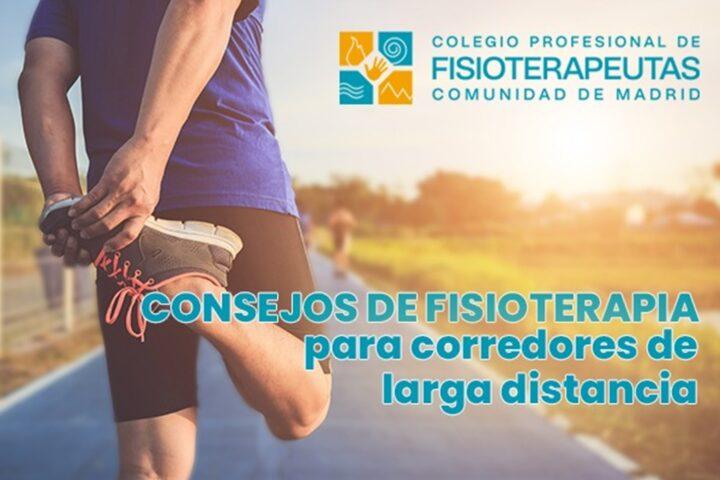 Consejos del Colegio de Fisioterapeutas de Madrid para corredores